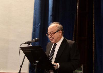 Eduardo Castro, Académico Supernumerario.