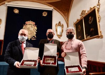 Francisco González Arroyo, José Antonio Lao Pérez y Mikel Astrain Gallart.