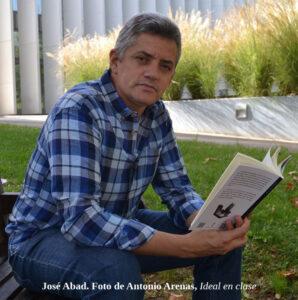 José Abad. Foto de Antonio Arenas, Ideal en clase