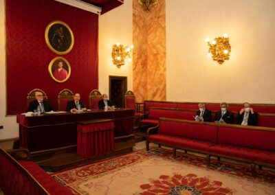 Discurso de clausura del curso académico 2020-2021 - Palabras iniciales del presidente, José Luis Martínez-Dueñas