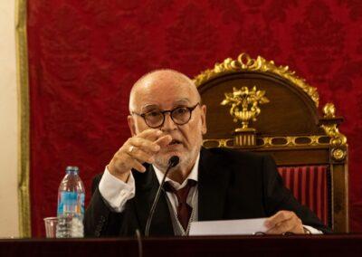 Discurso de clausura del curso académico 2020-2021 - Francisco López Barrios durante la lectura del discurso