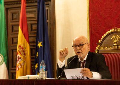Discurso de clausura del curso académico 2020-2021 - Otra instantánea del conferenciante