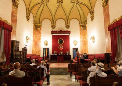 Discurso de clausura del curso académico 2020-2021 - Vista general del Paraninfo
